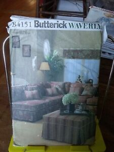 Oop-Butterick-Waverly-4151-sectional-sofa-slipcovers-UNCUT
