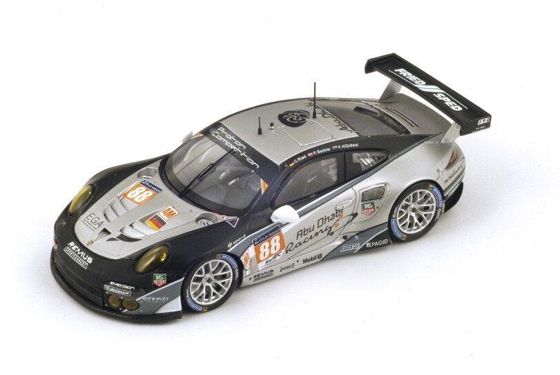 Porsche 991 RSR Ried-Bachler  Le Mans  2014 (Spark 1 43   S4237)