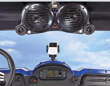 Rhino Mule RZR Maverick Ranger UTV Bluetooth Amplified 4 Speaker VDP Sound Wedge