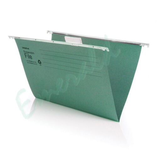 100 x A4 Heavyweight Suspension Files With Tabs /& Inserts 345mm Runner