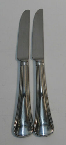 Reed /& Barton PIAZZA NAVONNA 2 Stainless Flatware~~CHOICE PIECE~~ Dinner Knives