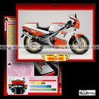 #058.01 Fiche Moto YAMAHA RD 500 LC (RDLC) 1984 Sport Bike Motorcycle Card ヤマハ