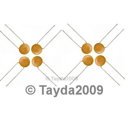 30 x 5pF 50V Ceramic Disc Capacitors Free Shipping