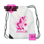 gym school bag nursery PE nursery bag Unicorn swim bag personalised