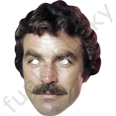 TOM SELLECK Celebrity attore americano CARTA MASCHERA-tutte le nostre maschere sono pre-tagliati!
