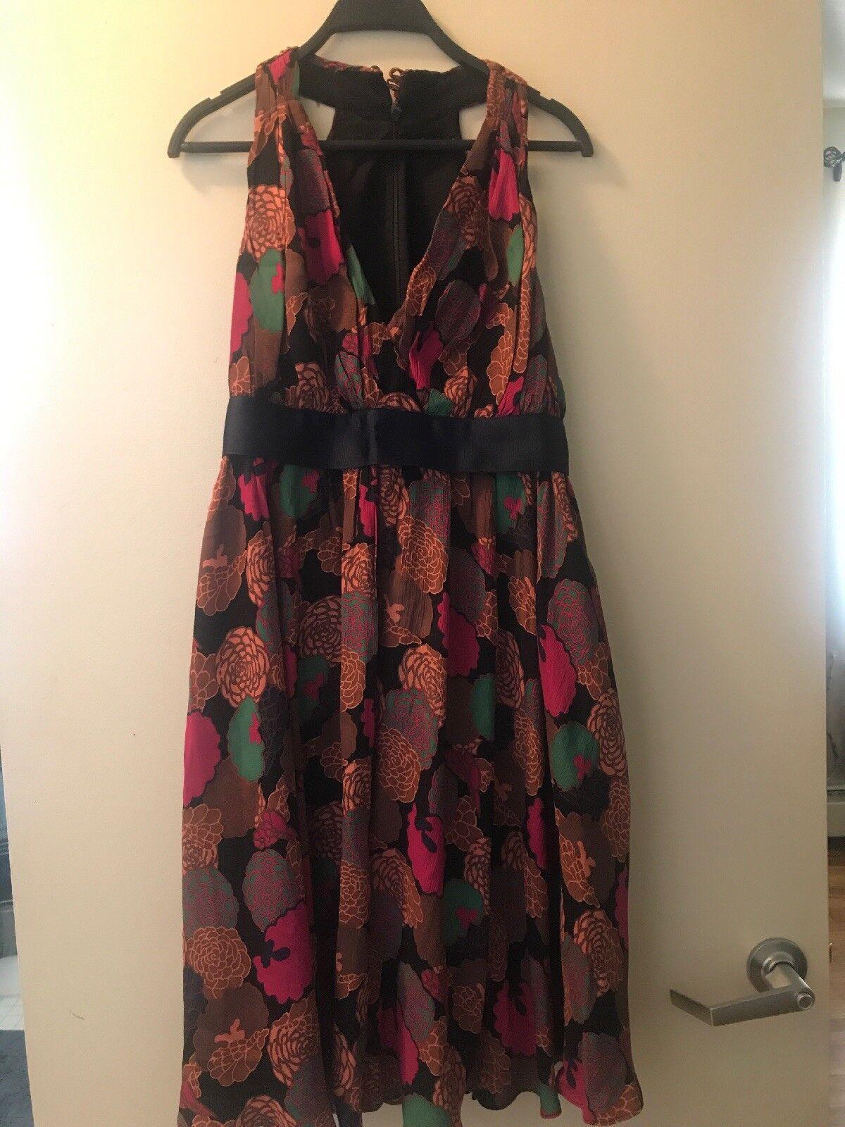 Betsey Johnson Floral Dress Größe 10