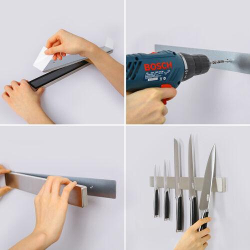 Magnetleiste Messerhalter Werkzeughalter Werkzeugleiste Magnet Edelstahl 40cm