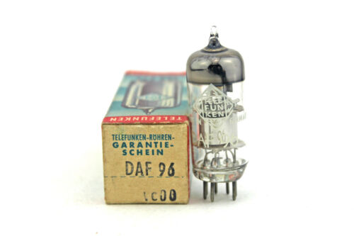 NOS Röhren Valve NIB x1 DAF96 // 1AH5 Telefunken  Vacuum Tube