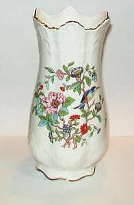 Aynsley Pembroke Gorgeous Tall Scallopped Flower Victorian Vase 8 1 8 Quot Ebay
