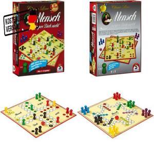 Schmidt-Spiele-49085-Classic-Line-Mensch-Argere-Dich-Nicht-Mit-Extra-Grossen-xs