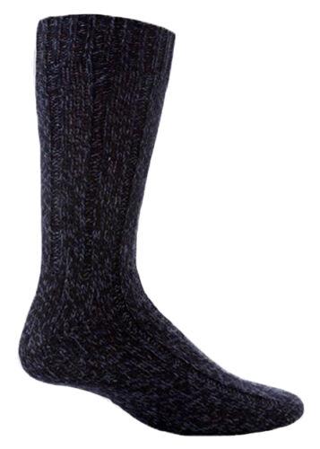3 Pack Mens Thick Heavy Duty Wool Knit Hiking Work Boot Crew Socks Workforce