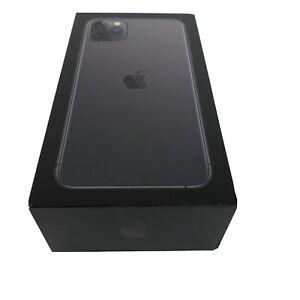 IPhone-11-Pro-Max-512GB-Gris-Espacial-Genuino-Apple-vacia-caja-con-insertos-solo