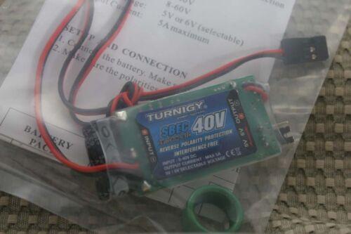 Turnigy 5A 2-10s 8-40V SBEC 5//6V SWITCHING BEC