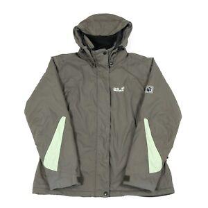 Details about JACK WOLFSKIN Texapore Insulated Waterproof Jacket | Coat Wind Rain Zip Hooded