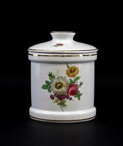 9947206-Porcelain-Geback-dose-Kammer-Forget-Me-not-Flowers-13x16cm