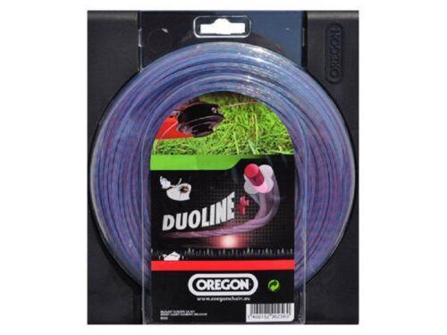 15m DU PERCO ligne 1,6 mm pour Black /& Decker gl655 Oregon Duoline DU PERCO ligne