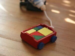 Maison De Poupées Miniature 1 / 12th Scale Chariot De Briques-afficher Le Titre D'origine PréVenir Et GuéRir Les Maladies