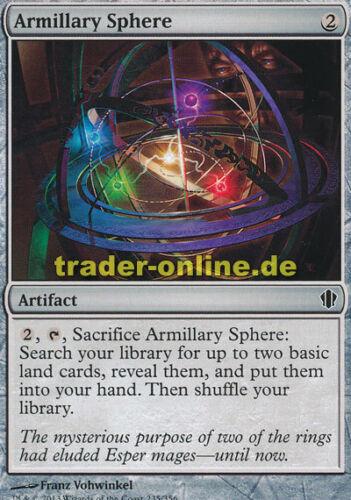 Commander 2013 Magic armillarsphäre 2x Armillary sphere