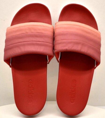 Tout Adilette Adidas Rouge Livraison rose gratuite Sz 9 Slide Ombr Cloudfoam neuf Plus 6xwxP1p