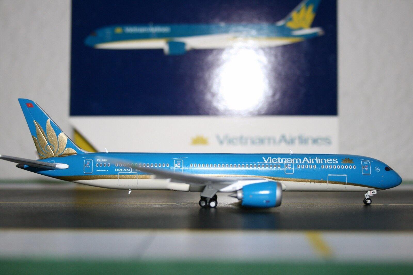 Gemini - jets 1 400 vietnam airlines boeing 787-9 vn-a861 (gjhvn1478) modellflugzeug