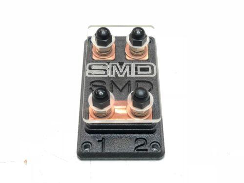 Voiture Audio Steve Meade SMD Premium Heavy Duty Double ANL Fuse Block cuivre