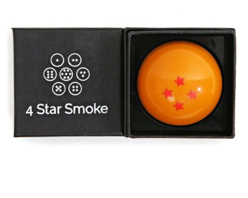 Dragon ball Z Herb Grinder3 Piece Grinder by 4 Star Smoke with black gift box