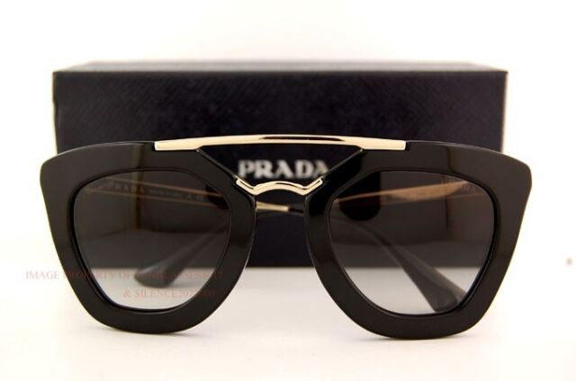 6bfcaeef539 ... hot brand new prada sunglasses 09q 09qs 1ab 0a7 black for women 455b4  549a9
