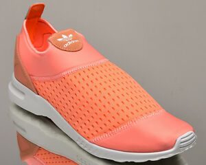 adidas Originals WMNS ZX Flux ADV Smooth Slip On women lifestyle sneakers mango