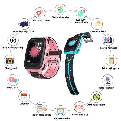 1.44in Kids Smart Watch GPS IP67 SOS Waterproof Phone Watchs For Kids Boys Girls  | eBay