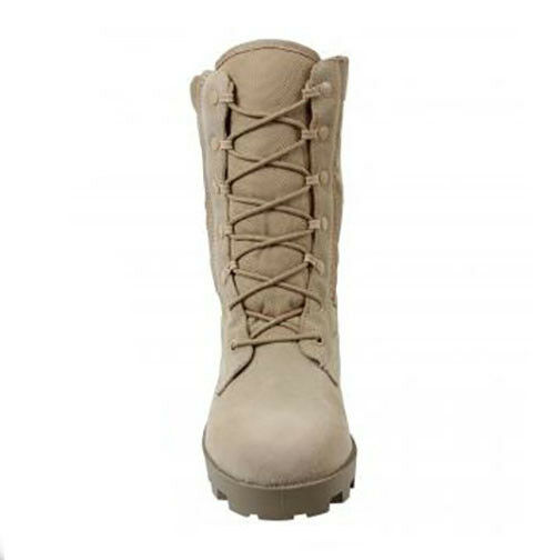 Desert Tan G.I. Type Speedlace Military Army Army Army Pelle Tactical Jungle Boot dab032