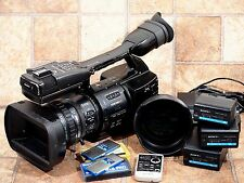Sony PMW-EX1 Camcorder Bundle w/2 SxS Cards, 3 Batteries & W/A Adapter