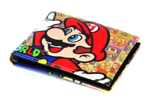 Brand New Super Mario World Mario /& Luigi Wallet Men/'s Kid/'s Cartoon US SELLER!!