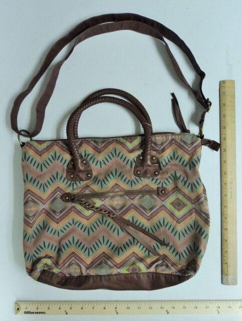 861547914f67 Women s Mudd Braided Handle Cross Body Tote Purse Hand Bag Style ...