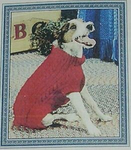 DOG COAT KNITTING PATTERN CABLES AND RIBS  SEVERAL SIZES - WINCHESTER, United Kingdom - DOG COAT KNITTING PATTERN CABLES AND RIBS  SEVERAL SIZES - WINCHESTER, United Kingdom