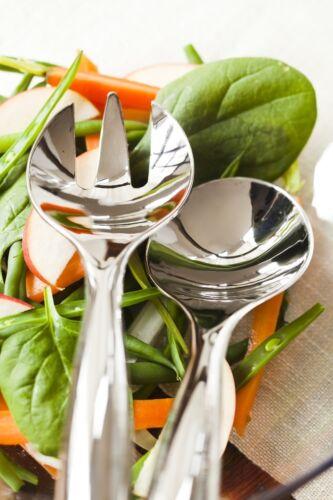 10 x SABERT MOZAIK Argent plastique Salade Cuillère Fourchette Set métallisé Réutilisable