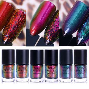 9ml-BORN-PRETTY-Starry-Nail-Art-Chameleon-Polish-Laser-Sequins-Polish-Varnish