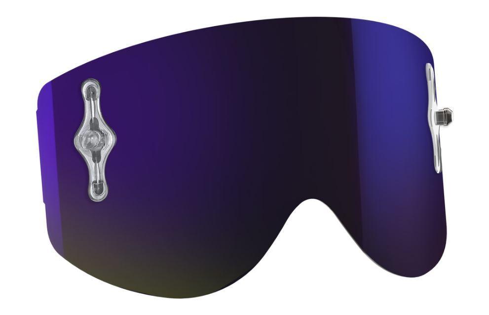 ORIGINAL Scott 80 SERIES Recoil  XI Recambio purplea Cromo Gafas Desprendibles  guaranteed