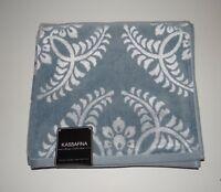 Kassa Fina Home Collection Gray/slate Bath Towel With Tags Sale