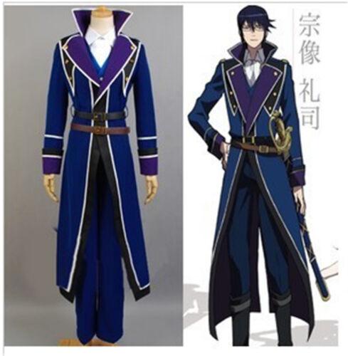 K Project Munakata Reisi cosplay Kostüm costume Fancy Mantel Jacke Costume Made
