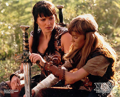 Xena Creation Entertainment photo photograph XE-MISC5 Xena with her son Solan