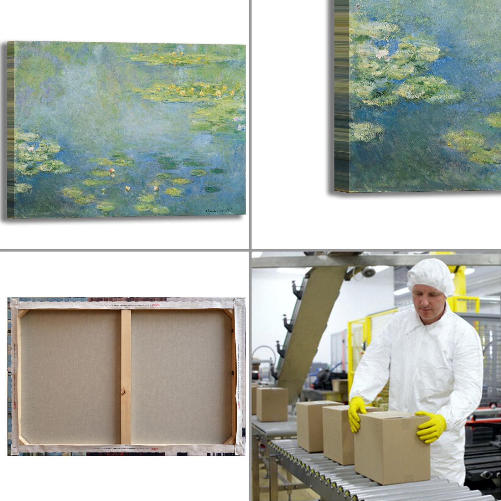 Monet ninfee 40 design dipinto quadro stampa tela dipinto design telaio arRouge o casa 0384a6