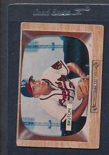 1955 Bowman #011 Billy Bruton Braves Poor *454