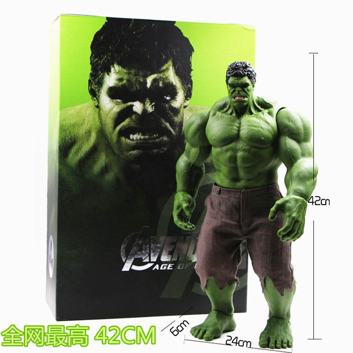 Marvel The Avengers Age of Ultron Super Size Hulk 16  Action Figure New IN Box