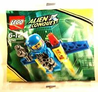 Lego Alien Conquest 30141 Jetpack Figur Promo Polybag Bag Beutel