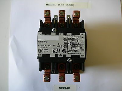 Fits Broaster Amp Henny Penny Pressure Fryer Contactor For