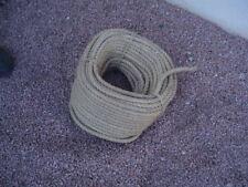 ROULEAU DE 50 m de corde en chanvre torsadée ø 15 mm
