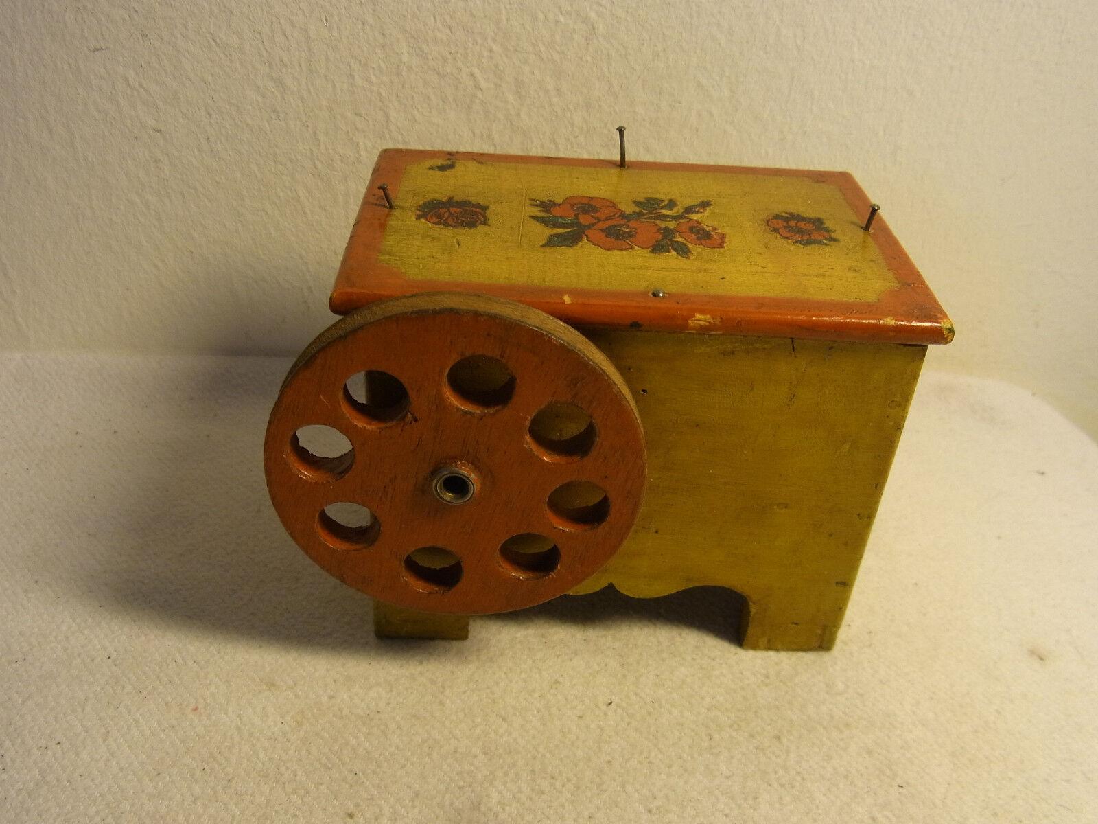 Motor de vapor alemán Vintage 1924 Caja Musical  AD