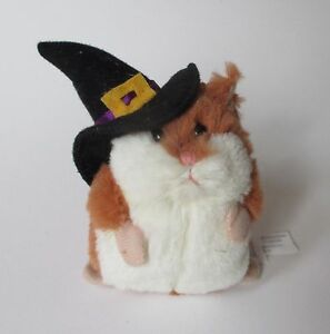 "a LIL HAMSTER plush Witch brown stuffed 3.5"" Ganz halloween"
