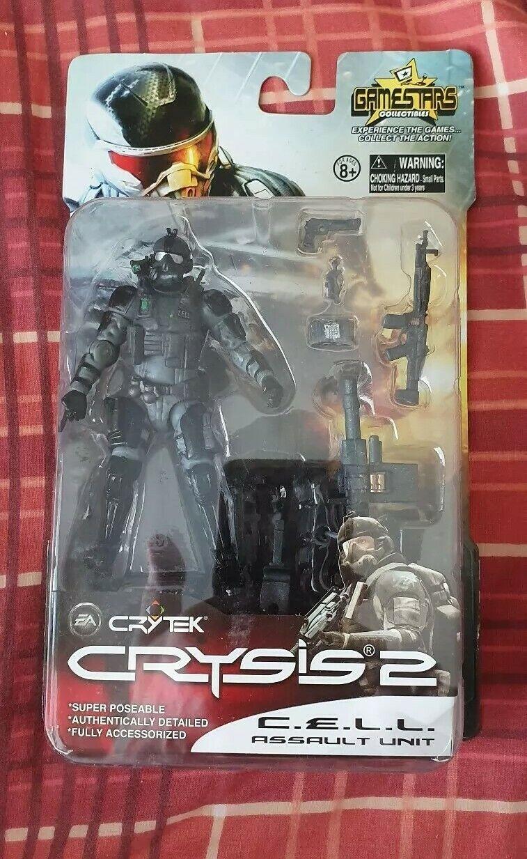Crysis 2 - C.E.L.L. Assault Unit figure - Gamestars (EA - Crytek) - New