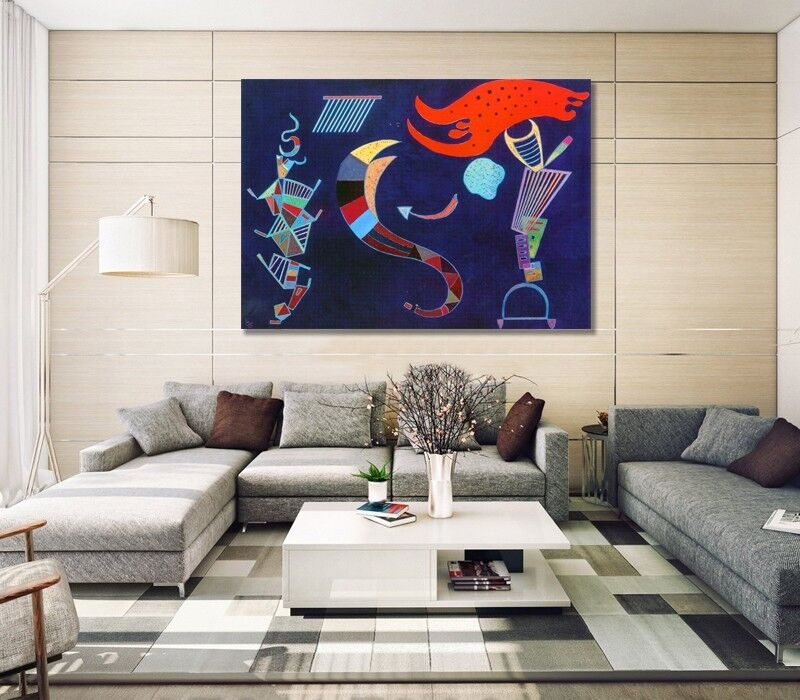 Gelbbus - Quadro - Wassily Kandinsky Kandinsky Kandinsky -  La freccia 9d2276